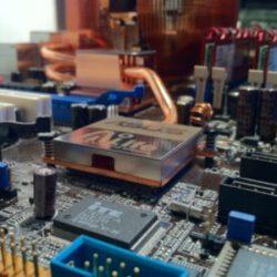 Teplota procesora