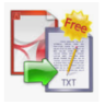 FREE PDF TEXT EXTRACTOR (pc program)