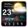PRESNÉ POČASIA - živá predpoveď počasia (mobil)